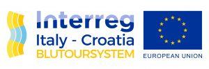 Logo BluTourSystem - progetto europeo Interreg Italy-Croatia